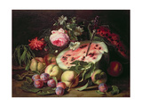 Still Life with a Water Melon