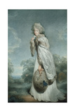 Miss Farren  Engraved by Francesco Bartolozzi (1727-1815)  Pub by Bull and Jeffreys  1792