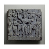 Relief Depicting the Birth of Buddha  Gandhara  Probably Sikri  2nd-3rd Century