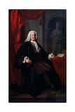 Portrait of Dr Richard Mead  1747