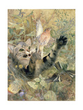A Cat and a Chaffinch  1885