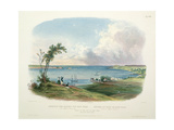 Entry to the Bay of New York Taken from Staten Island  Vignette Xxxiii from 'Travels into the…