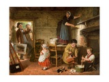 The Dismayed Artist  1866