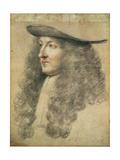 Portrait Head of King Louis XIV  C1663