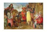 Jeanne De Flandres (1472-1545/9) Going to Deliver Prisoners