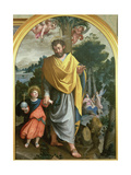 St Joseph Leading the Infant Christ