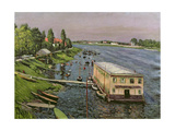 The Pontoon at Argenteuil  C1886-87