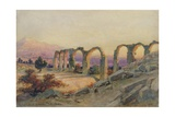 The Aqueduct of Salona  Dalmatia  1854