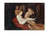 La Toilette (Ladies Dressing)  1864-68