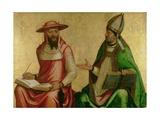 St Jerome and St Ambrose  C1510