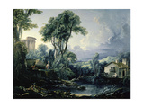 Landscape with Water Mill  1743