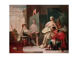 Alexander and Campaspe in the Studio of Apelles