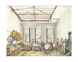 The Laundry at Aynhoe  23rd February 1847