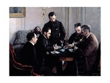 The Bezique Game  1881