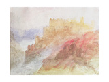 A Castle Above a Chasm  C1841/44