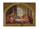 Sketch for 'The Last Supper'  St Mary's  Weymouth  Formerly Attributed to Antonio Verrio…