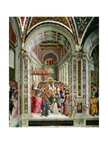 Aeneas Sylvius Piccolomini (1405-64)  Elected Pope with the Name of Pius II  Enters St Peter's …
