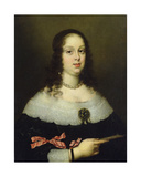 Portrait of Vittoria Della Rovere (1622-95)  Grand Duchess of Tuscany