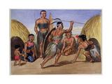 Zulus Dancing in London  1853