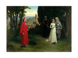 First Meeting of Dante and Beatrice  1877