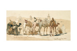 Camel Market Outside Damascus  1859
