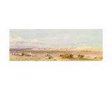 Sand Hills in the Desert  Cairo  Suez  1859