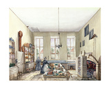 The Kitchen at Aynhoe  3rd February 1847
