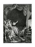 'sainte Vierge!' S'Ecria-T-Elle Qu'Allons Nous Devenir Un Homme Tue Chez Moi!'  Illustration…