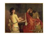 David and Saul  1878