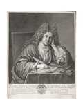 Michel Richard Delalande (1657-1726) Engraved by Simon Thomassin (1655-1733)