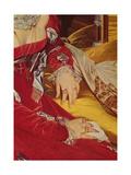 Madame De Senonnes  Detail of Her Arms  1814-16
