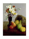 Fruits and Flowers  1866