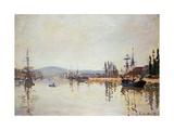 The Seine Below Rouen