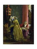 In the Boudoir  1851