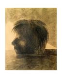 Head of Orpheus on the Water or the Mystic  1880