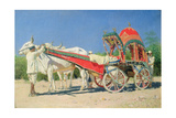 Vehicle of a Rich Man in Delhi  1874-76