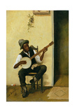 The Banjo Player  1881