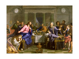 Christ in the House of Simon the Pharisee  C1656
