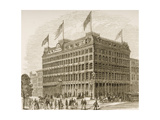 Public Ledger Building  Philadelphia  in C1870  from 'American Pictures' Published by the…