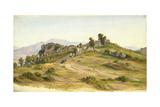 The Serpentara at Olevano  1824