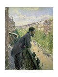 Man on a Balcony  C1880