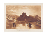 Norham Castle  Engraved by Charles Turner (1773-1857) 1859-61