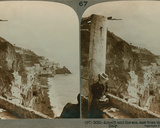 The Coast of Amalfi and the Bay of Salerno from a Converted Convent  a Stereoscopic View