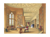 The Library  Windsor Castle  1838