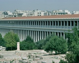 Stoa of Attalos  Reconstructed Building of 150 BC