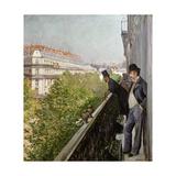 A Balcony  Boulevard Haussmann  1880