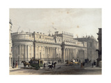 The Bank of England  Engraved by Louis-Jules Arnout (1814-68)  Pub 1854 by E Gambart and Co