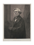 Hector Berlioz (1803-69) Engraved by Metzmacher