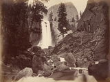 Privy at Vernal Face  Yosemite  Usa  1861-75