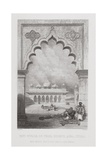 Moti Musjid  or Pearl Mosque  Agra  India  Engraved by W Finden  from 'World Religion' …